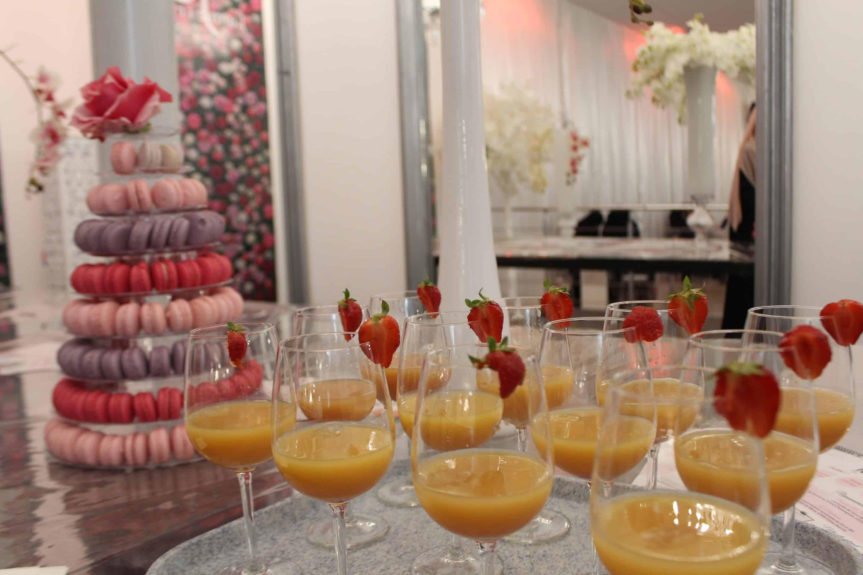 Macarons et jus de fruits - Concours de Coran